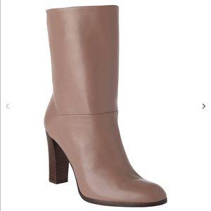 L.K.Bennett Rory mid calf boots block heel round